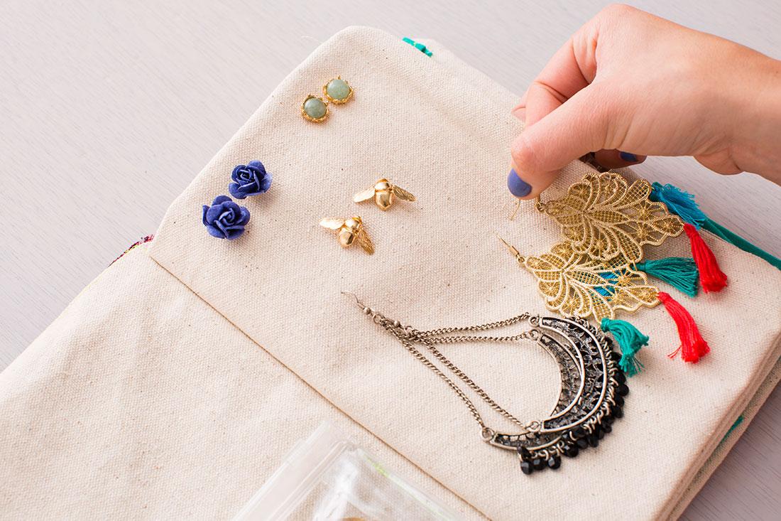 Sew Jewelry Organizer Jewelry Ideas