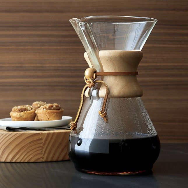 Chemex Coffee Maker ~ Indie wedding gift ideas for your favorite hip couple
