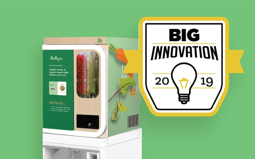 Sally the Robot Wins 2019 BIG Innovation Award