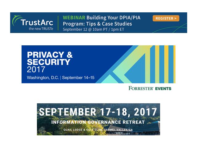 PIA/DPIA Program – Privacy & Security