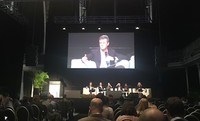 TrustArc CEO Chris Babel at the 2018 Computers, Privacy & Data Protection conference