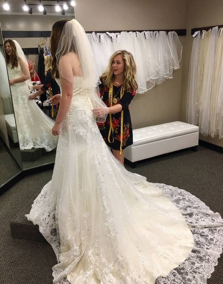 I Kind Of Dreaded Dress Shopping After Got Engaged Really Dont Like In GeneralI Felt So Anxious Looking At