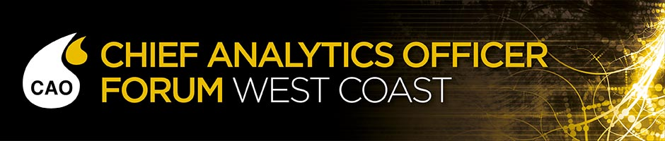 Striim to sponsor and present at Chief Analytics Officer West Coast May 26-27 2016.
