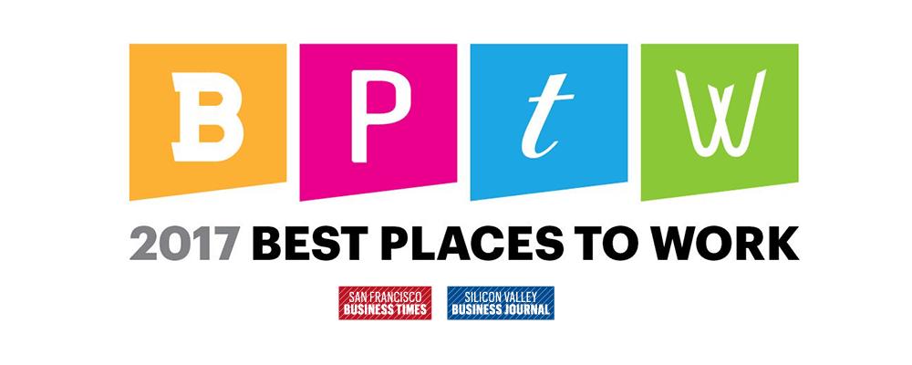 Striim Wins 2017 Best Places to Work Award