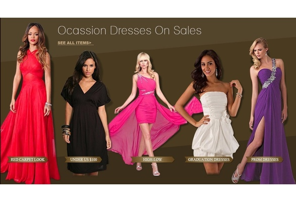 occasion dresses on sales