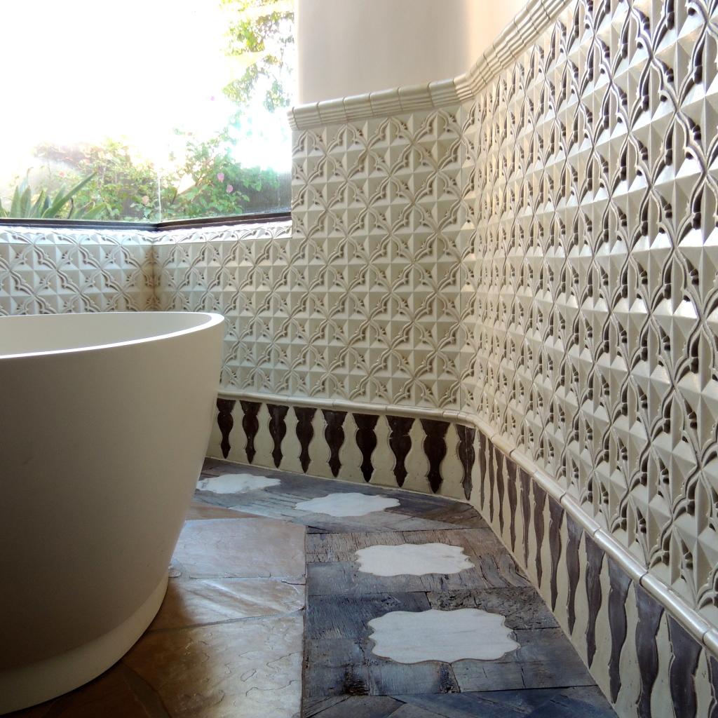 4edb3c8ddc47 Artisan Terracotta Tile- Bathrooms- Tabarka Studio