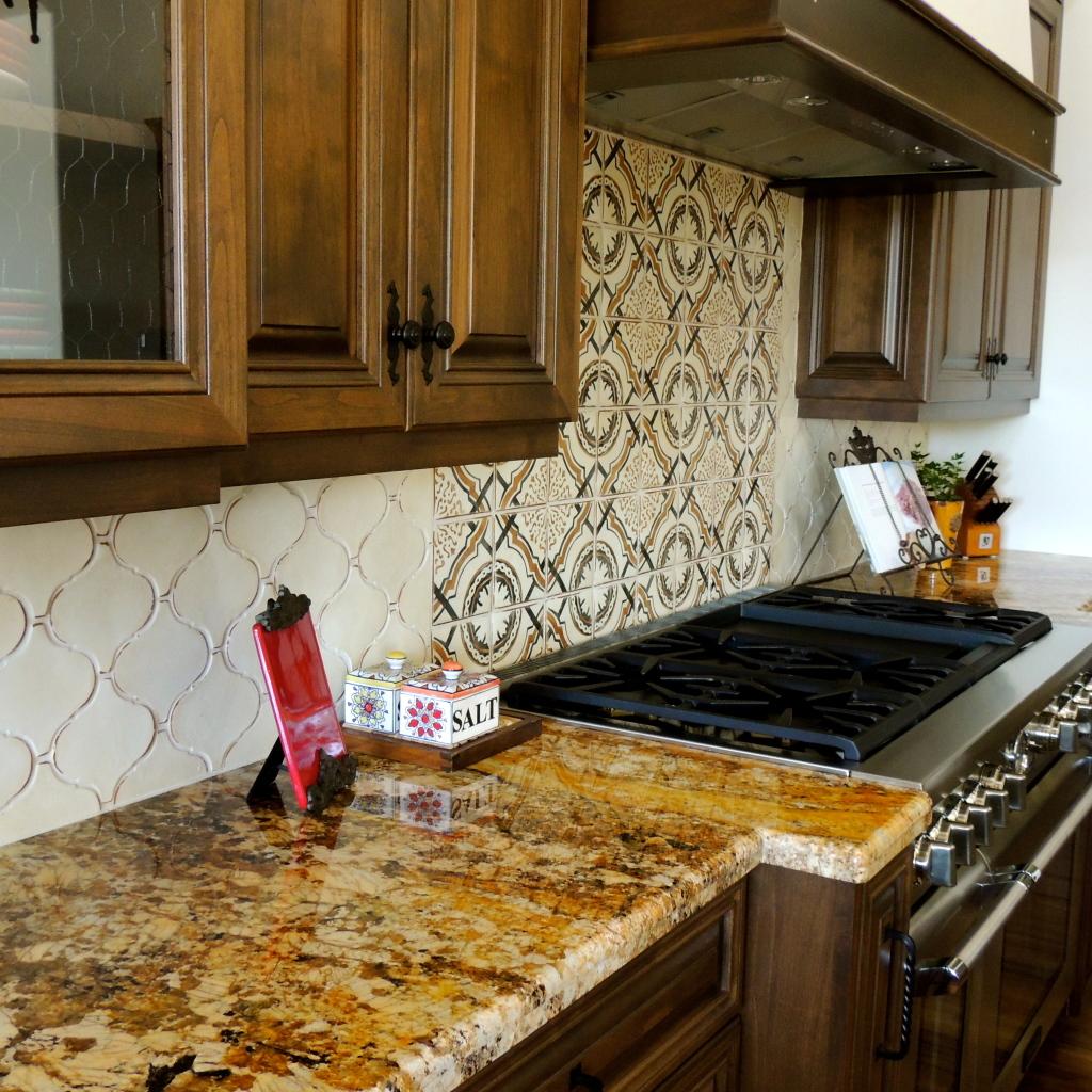 Kitchen Flooring And Backsplash: Kitchen Floors And Backsplashes