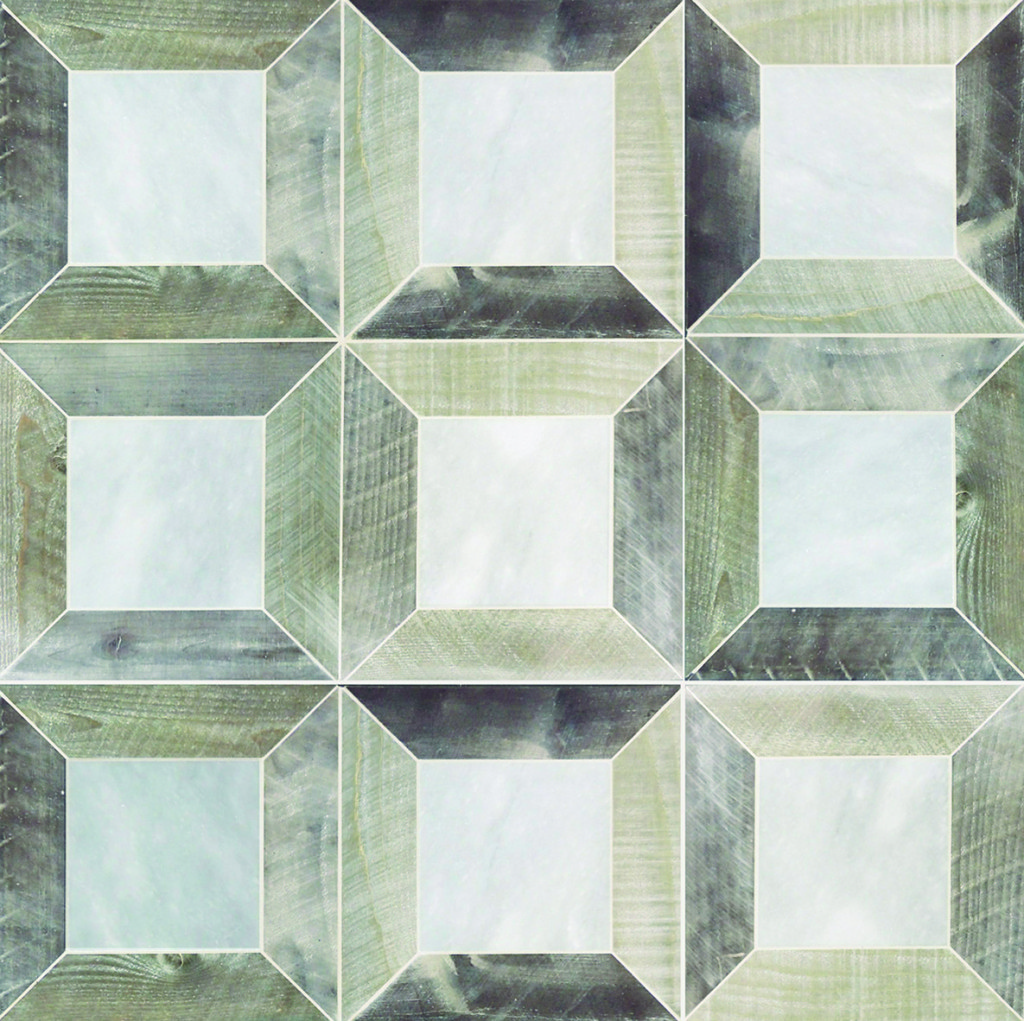 da2c7d3f6f55 Petite Alliance - wood and stone mosaic - Tabarka Studio