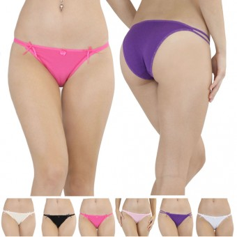 Essential Cotton String Bikini Panty