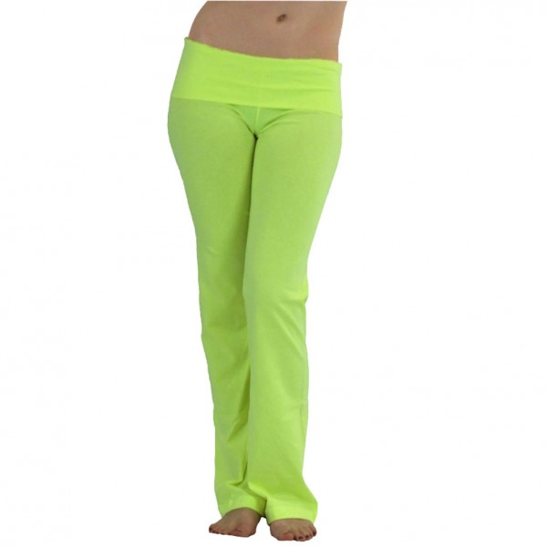 ToBeInStyle Soft Stretch-Knit Cotton Blend Fold-Over Waistband ...