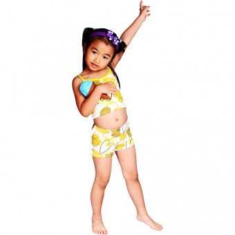 Hearts Children's Tankini w/ Boyshort