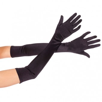 Extra Long Satin Gloves Halloween Cosplay Costume Accessories