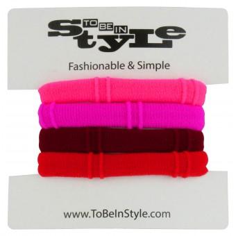Basic Hot Color Hair Ties