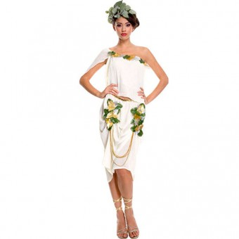 Seductive Classic Sexy Greek Rooman Goddess Toga Costume Cosplay Halloween