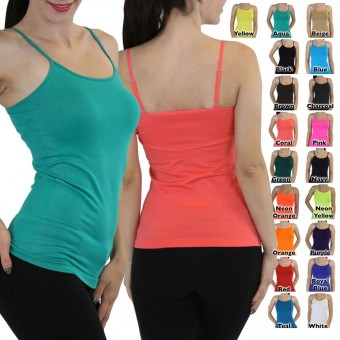 Seamless Shaping Spaghetti Strap Camisole
