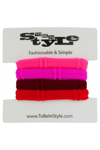 Basic Hot Color Hair Ties