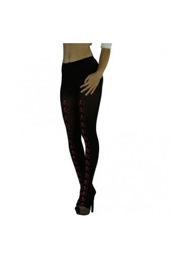 ToBeInStyle Women's Halloween Skull & Crossbone Tights Stockings  - One Size
