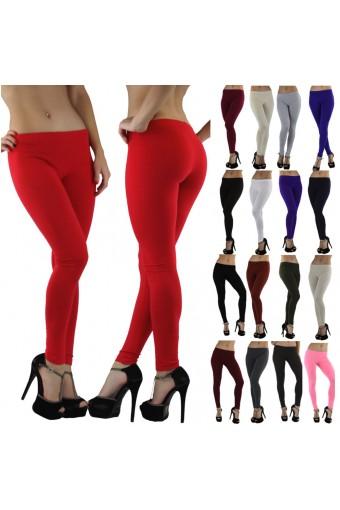 Skinny Fit Full-Length Cotton Leggings