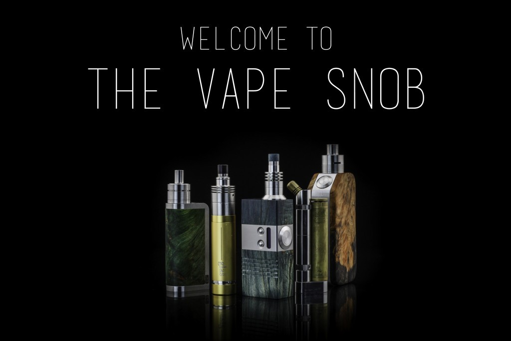 Welcome to The Vape Snob.