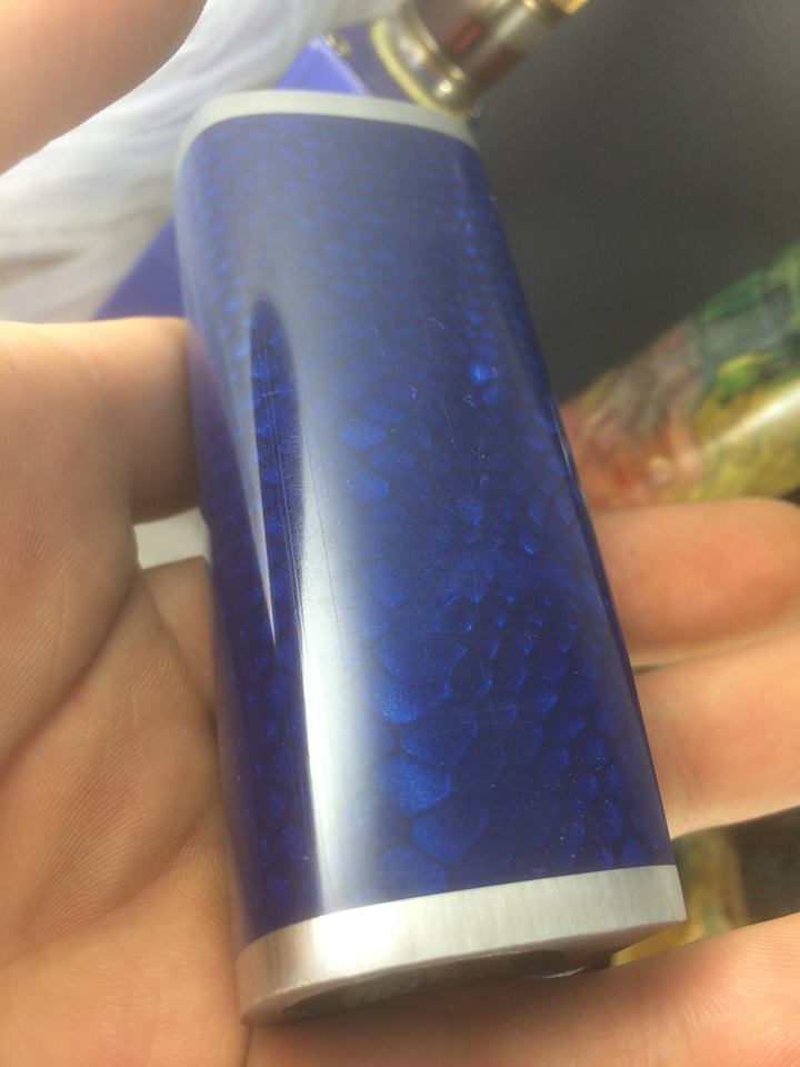 "Barracuda Mods ""Blue Dragon Woodpecker"""