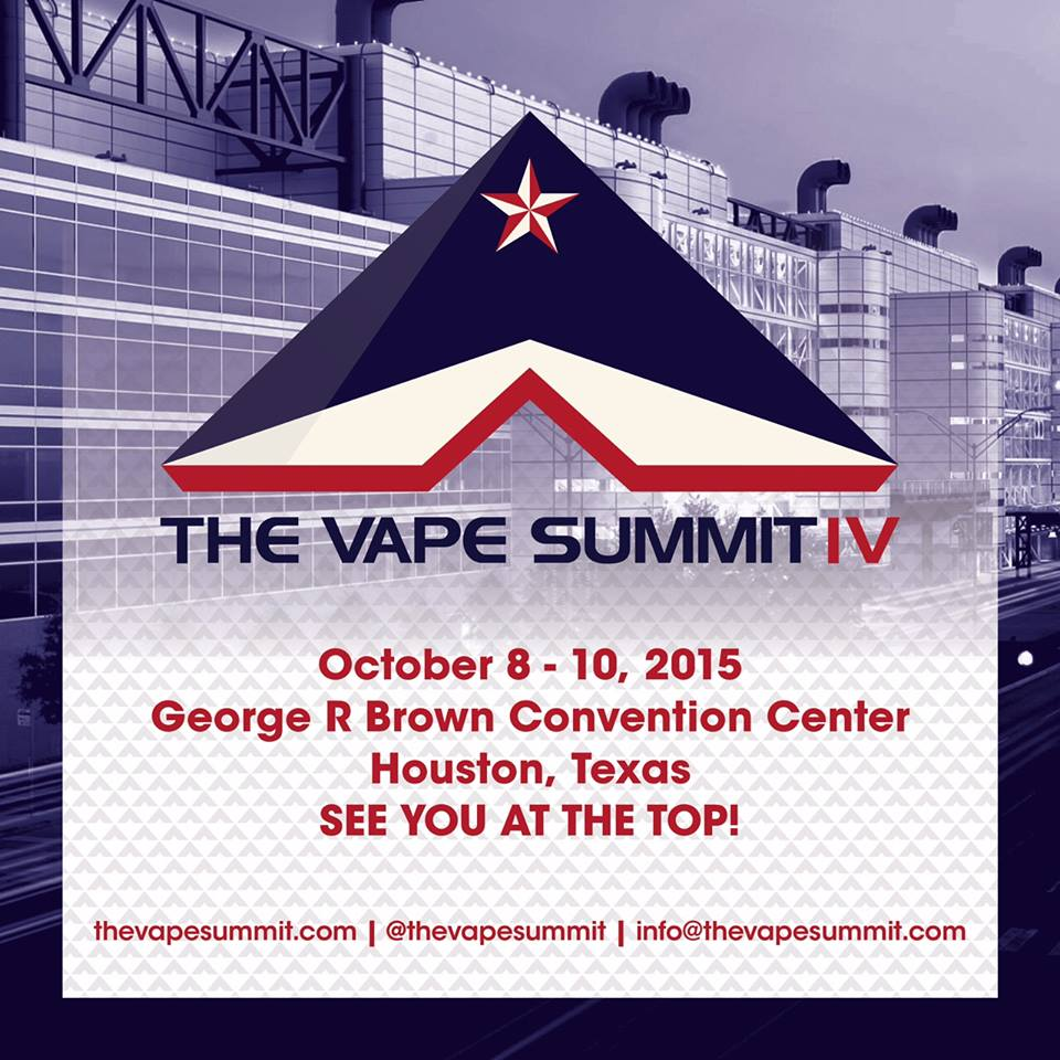 The Vape Summit Houston October 2015