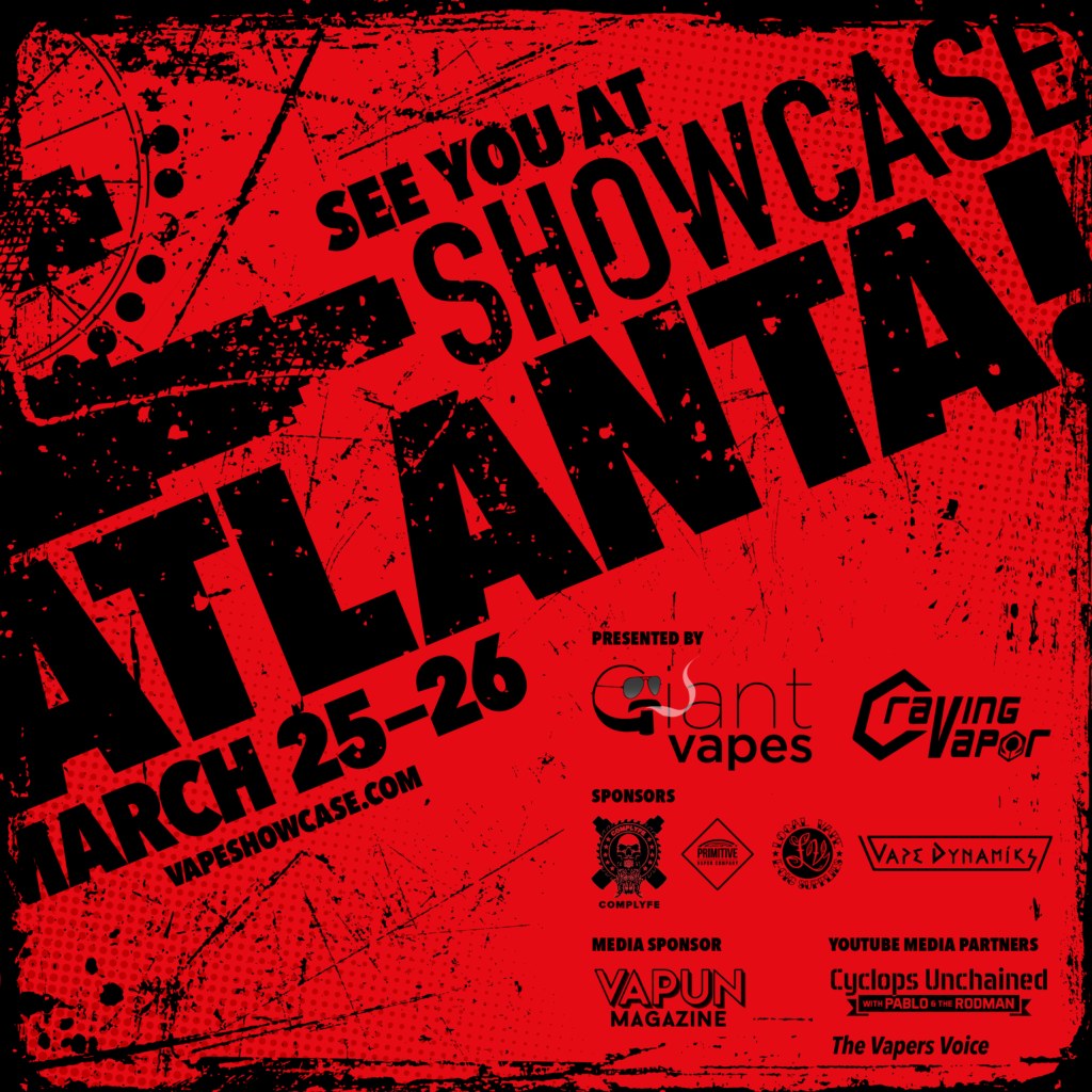 The Vape Showcase coming to Atlanta