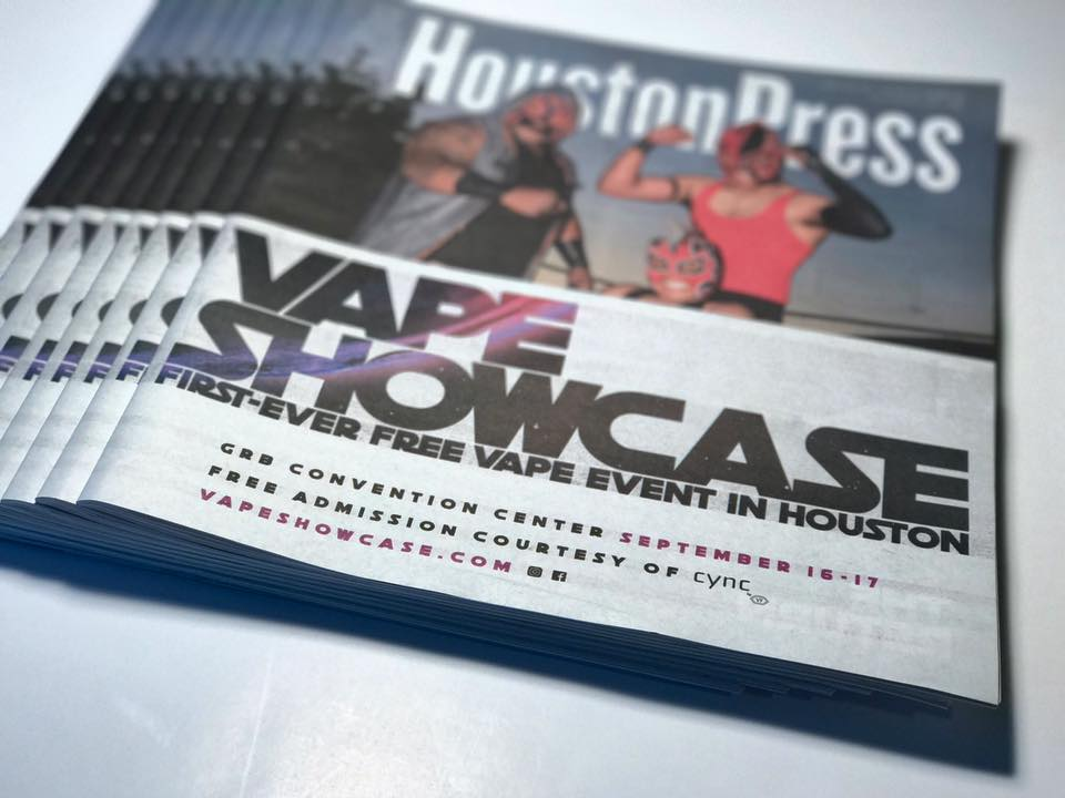 The Vape Showcase Returns to Houston!