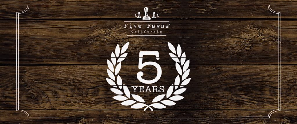 5 Years of the Five Pawns Family