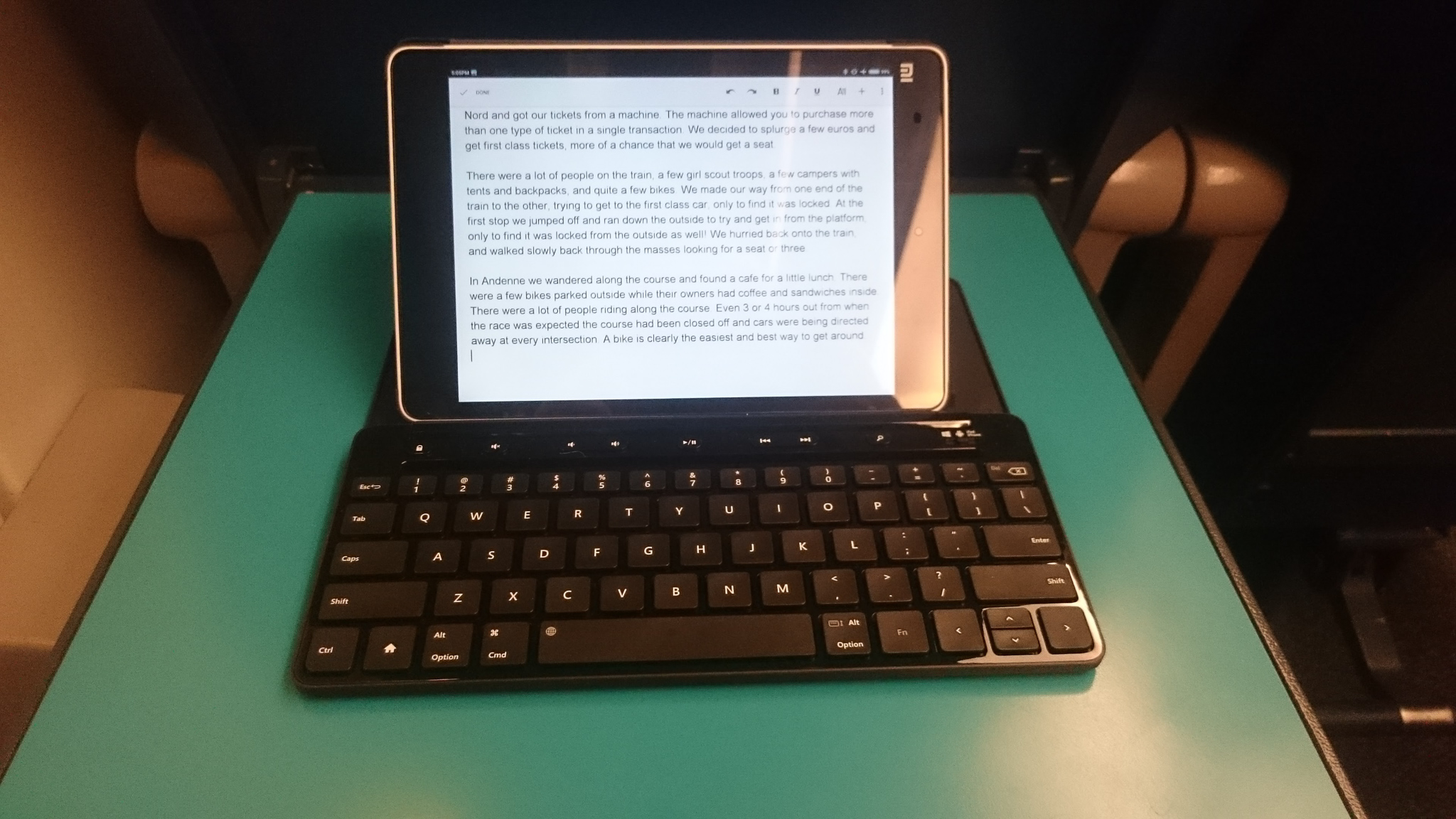 Xiaomi Mi Pad and the Microsoft Universal Keyboard