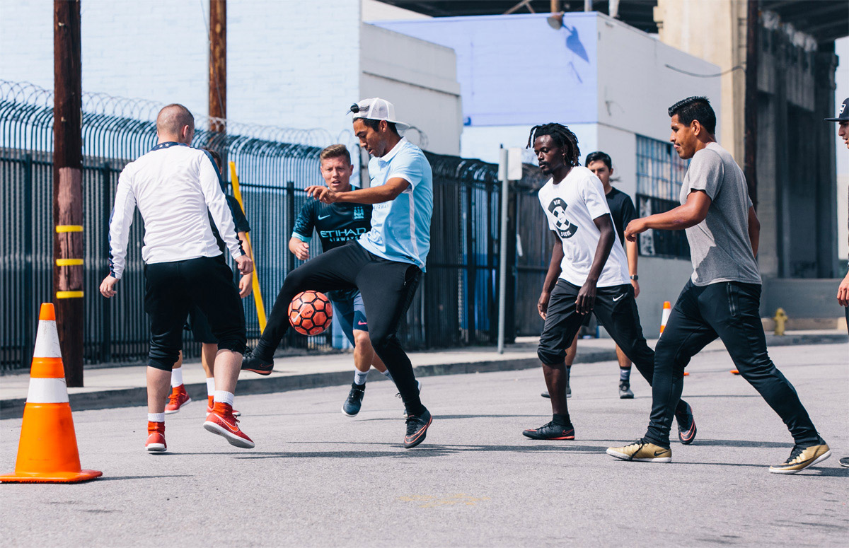 street soccer Los Angeles