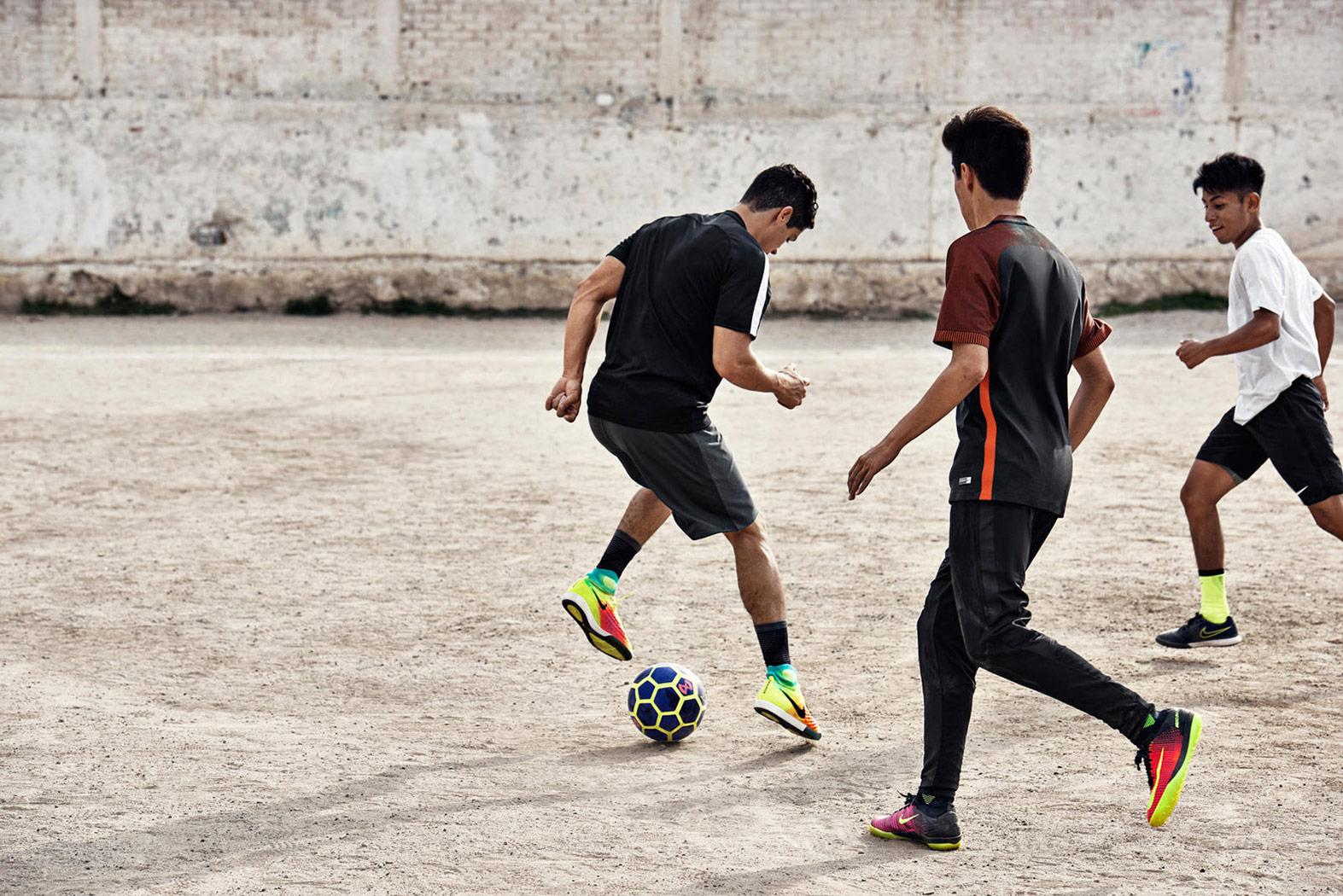Nike street football