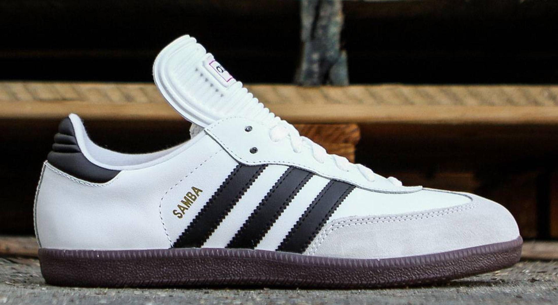 Adidas Samba white