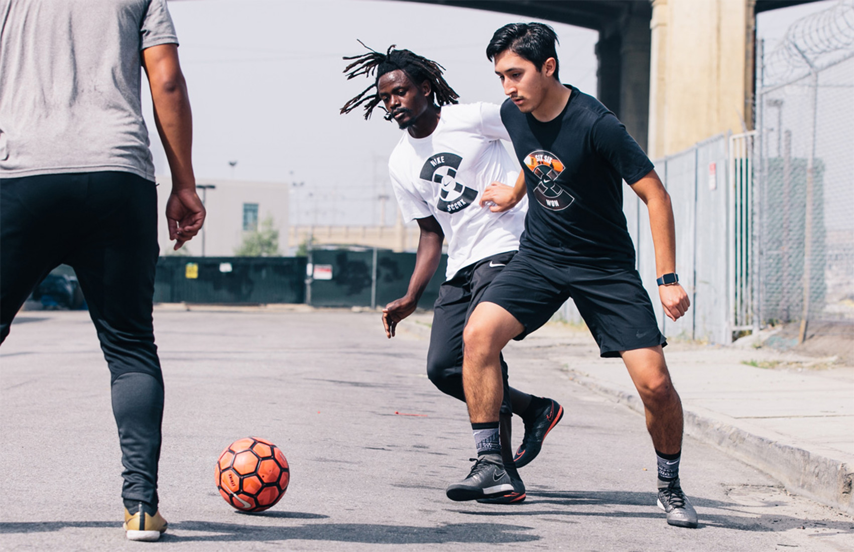 Los Angeles street soccer