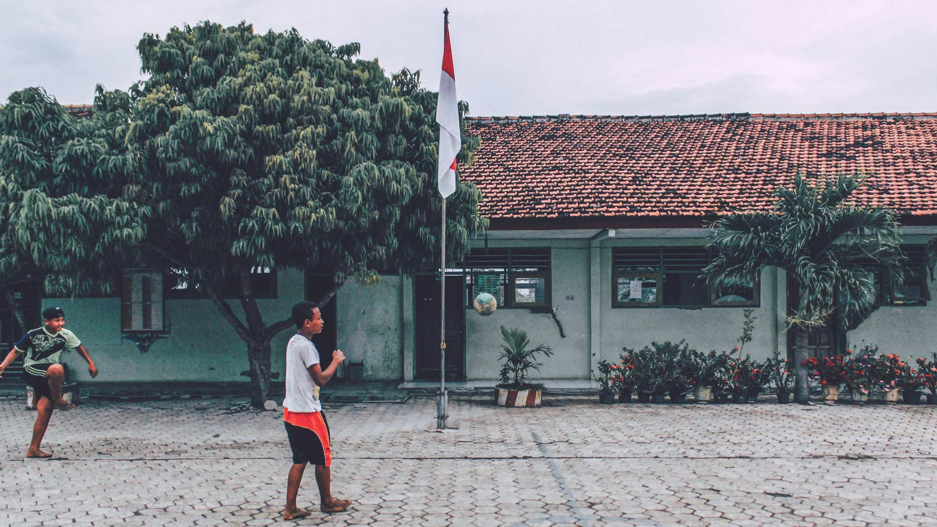 Indonesia street soccer
