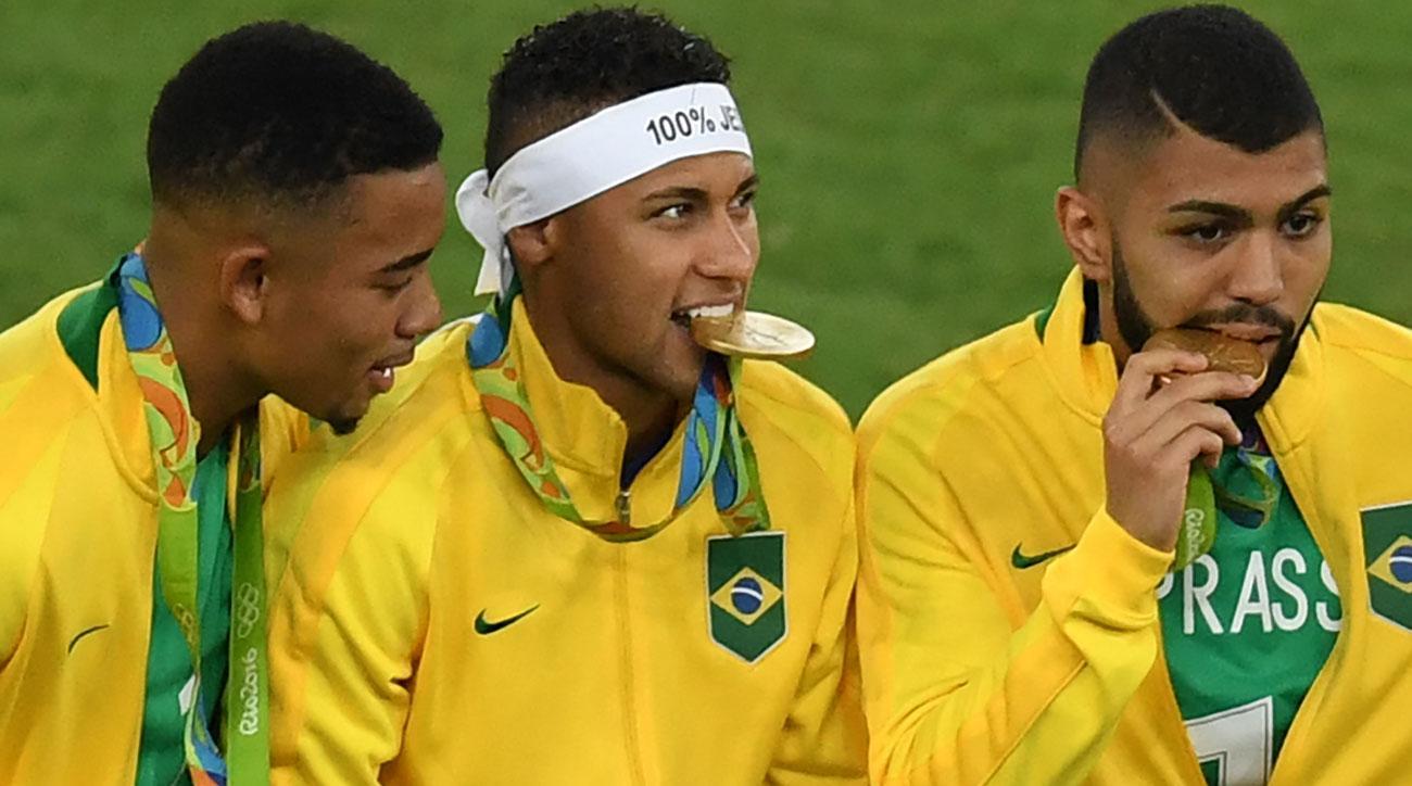 Brazil Summer Olympics Neymar