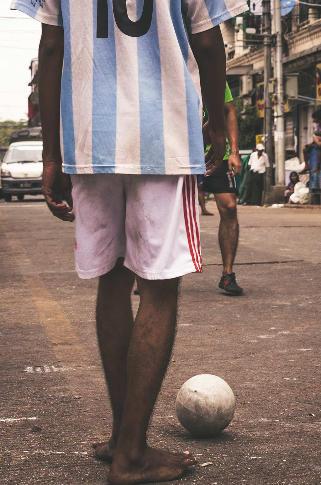 street soccer Myanmar