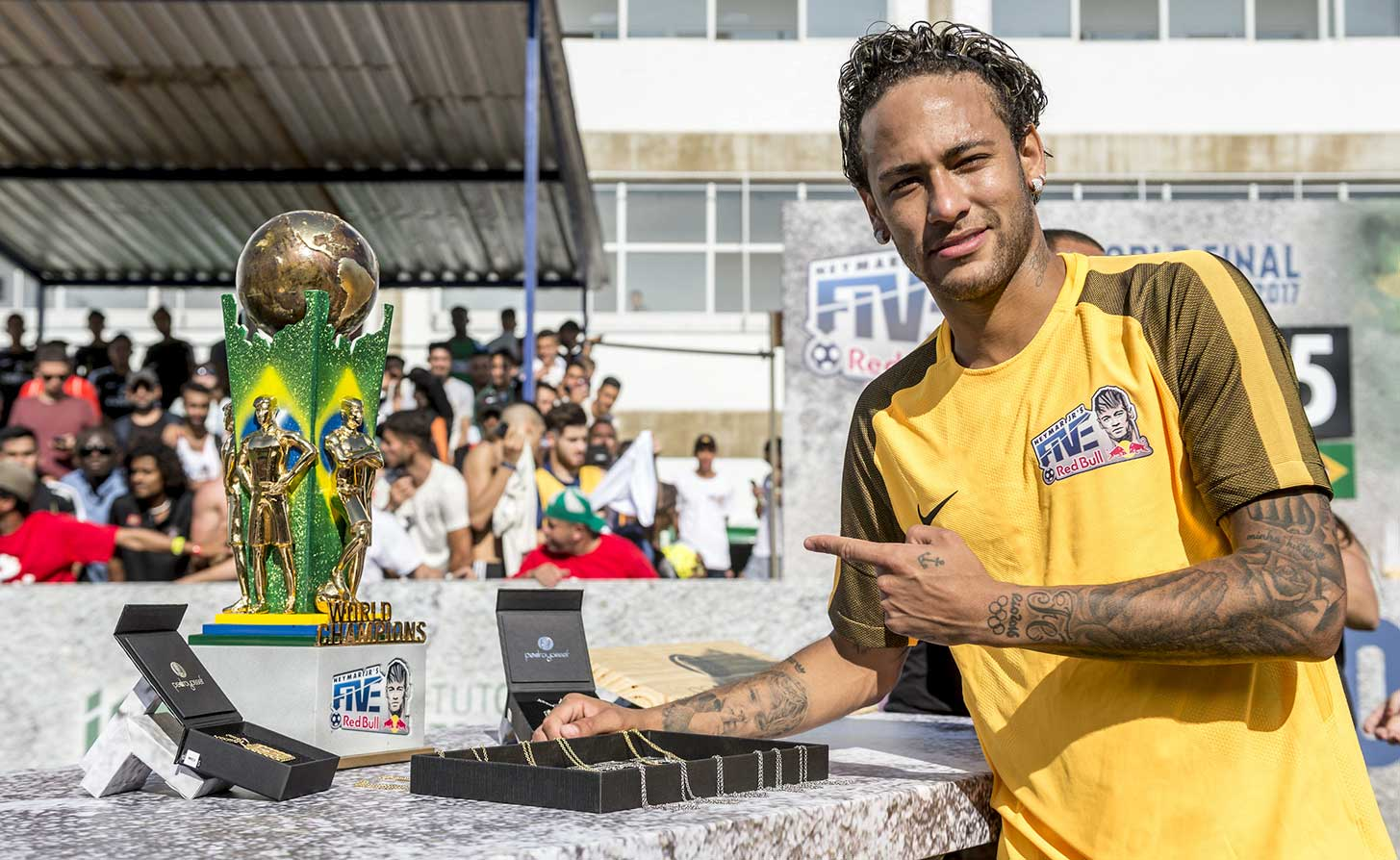 Neymar Jr's Five World Final Brazil