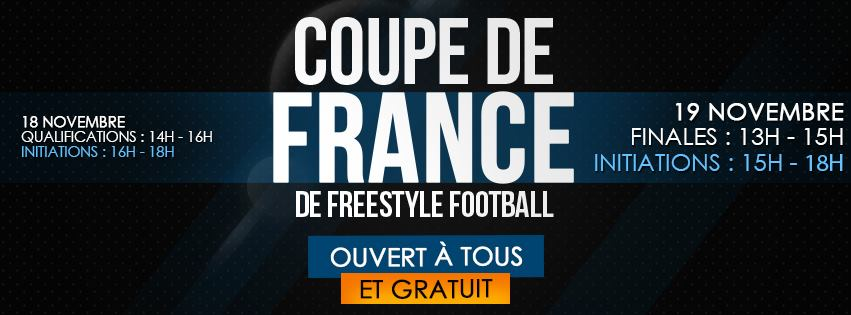 freestyle football events france cup