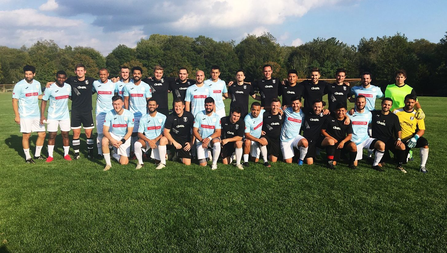 Providence City FC and AFC Team Photo