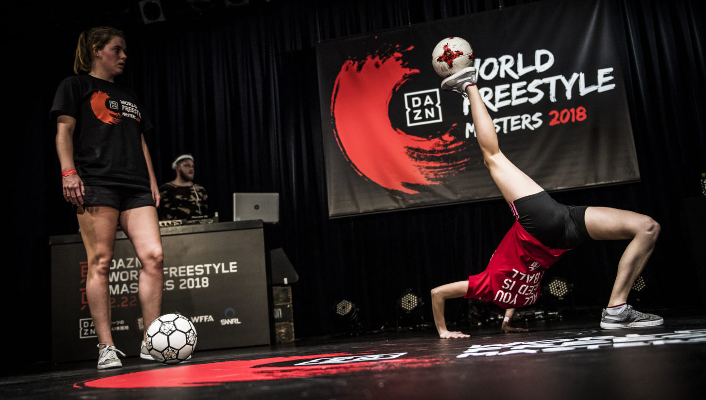 dazn world freestyle masters