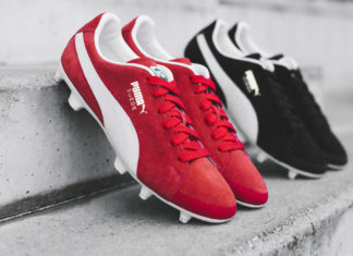 Puma's FUTURE Suede Brings Classic Street Style to the Pitch