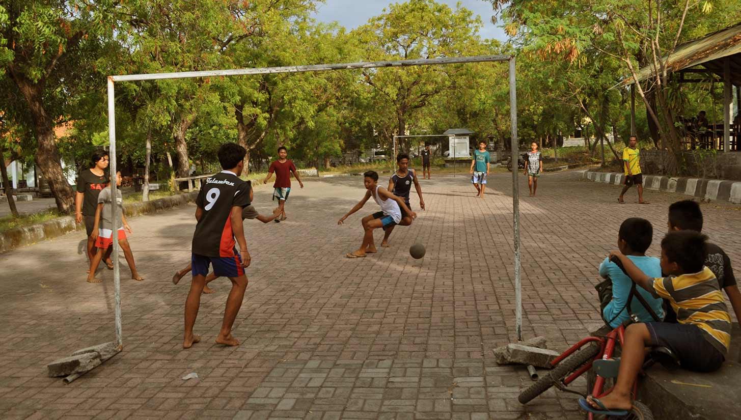 street football bali