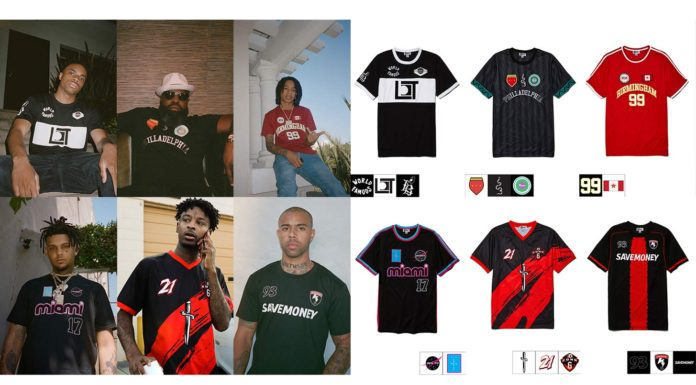 hip hop football kits