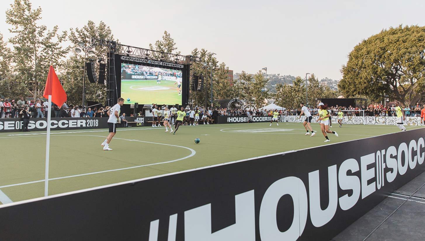 house of soccer 2018