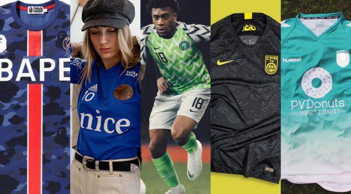 best football kits 2018
