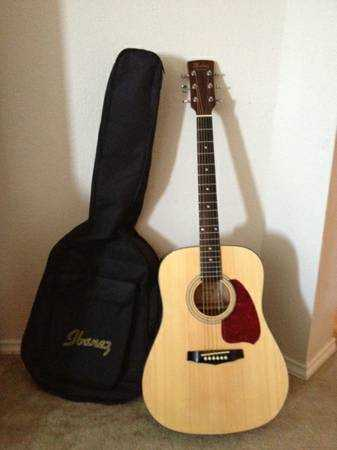 A used Guitar and Basses