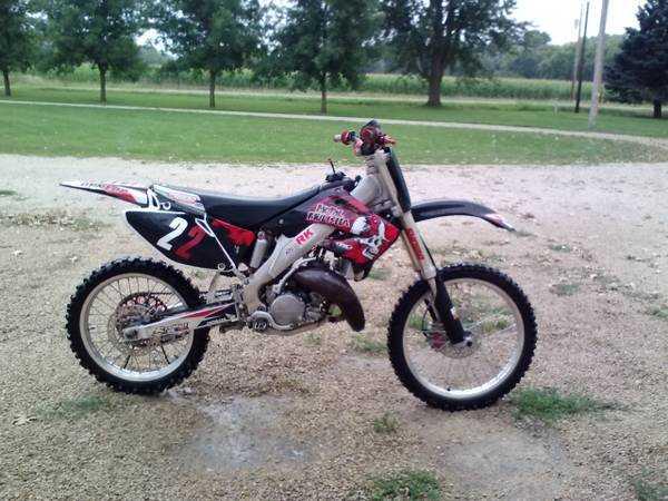 A used Dirt Bike