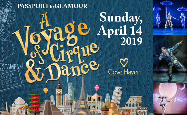 Voyage of Cirque and Dance: Passport to Glamour!