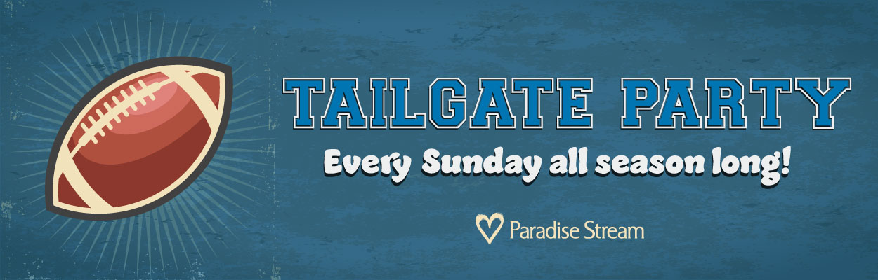 Sunday Tailgate Party