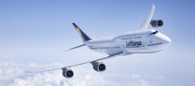 Lufthansa 747-8 a